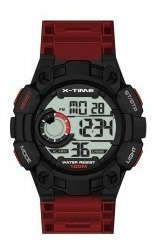 Reloj Digital X-time Xt028 Sumergible Ø 46mm