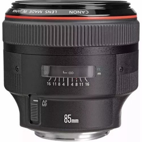 Lente Profissional Objetiva Canon Ef 85mm F/1.2 L Ii Usm