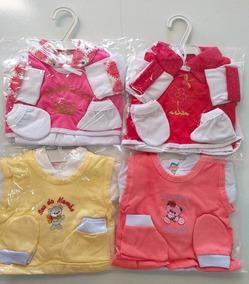 Kit 4 Conjuntos Pagão P Menino Ou Menina Recém Nascido Bebê