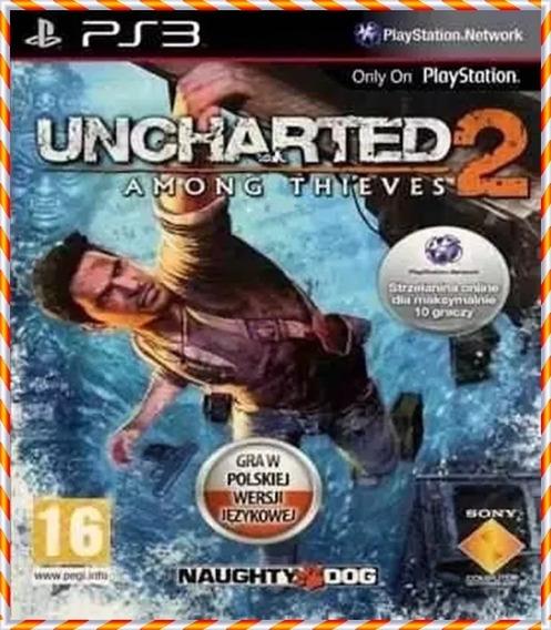 Uncharted 2 Ps3 Psn Jogo Original Psn Ps3 Envio Rápido