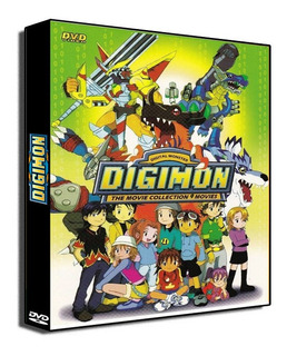 Digimon [coleccion Peliculas] [2 Dvds]