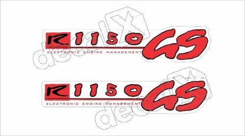 Emblema Adesivo Bmw R1150gs Branca Par Bwf1150gs02 Fgc