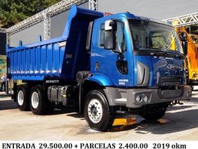 Ford Cargo 2629/3133 2018/19 Okm Caçamba