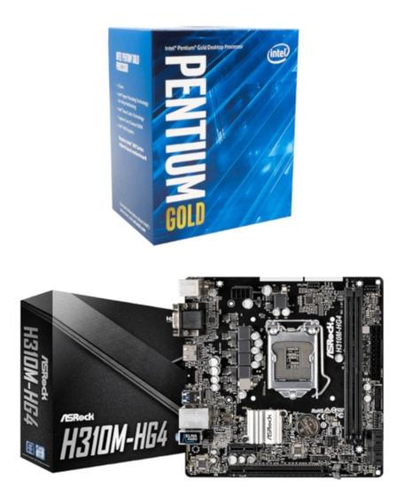 Kit Upgrade Intel Pentium G5400 + Asrock H310m Hg4