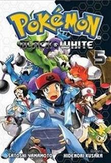 Pokémon Black White 5! Mangá Panini! Lacrado!