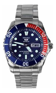 Reloj Seiko Deportivo Pepsi Seiko 5 Acero Snzf15