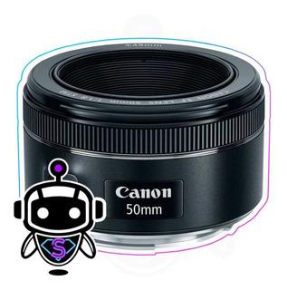 Lente Canon 50mm F/1.8 Stm Nuevos + G R A T I S Memoria 32gb