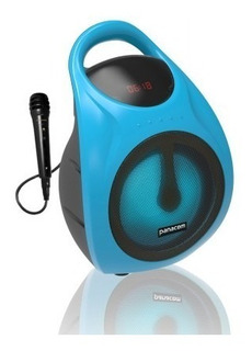 Parlante Portátil Bluetooth Panacom + Micrófono Batería 3050