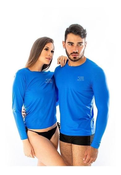 Camiseta Camisa Segunda Pele Proteção Uv 50 Masculina