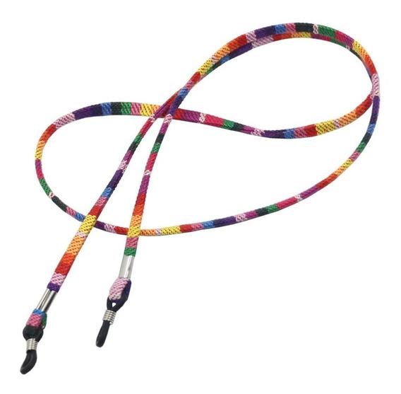 Kit 3 Cordão Corda Corrente Segura Óculos Boho Cordinha