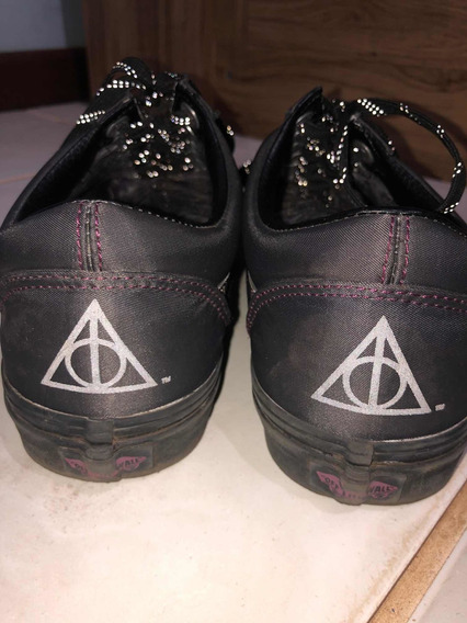 Tênis Vans Old Skool Harry Potter Relíquias Da Morte