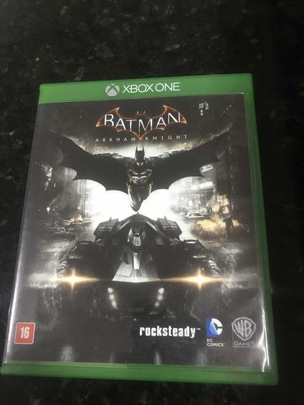 Jogo Xbox One Batman Arkham Knight Original Mídia Física