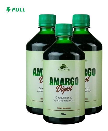 Imagem 1 de 4 de 03 Amargo Digést - (500ml Por Unidade)