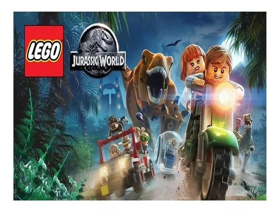 Lego Jurassic World Steam Key Origina Pc Envio Imediato