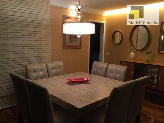 Apartamento Com 3 Dormitórios À Venda, 187 M² Por R$ 2.230.000 - Vila Leopoldina - São Paulo/sp - Ap1363