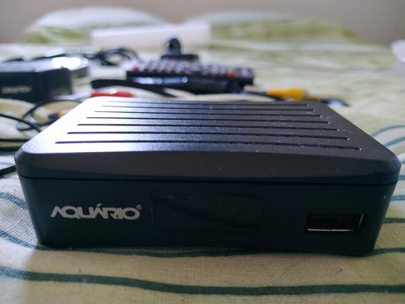 Mini Conversor Digital Aquario De Tv Full Hd Dtv-4000s