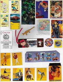 Lote Cards Tazos Brindes Promocionais Brinquedos Fonecard