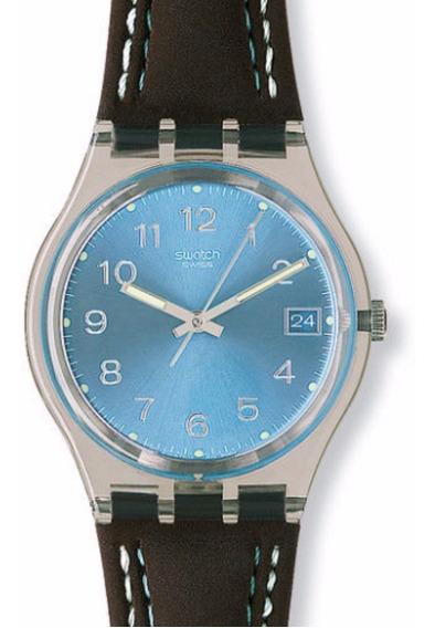Relógio Swatch Blue Choco Gm415 - Original - Na Caixa