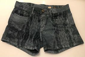 Shorts Jeans Escuro Escuro Carmim