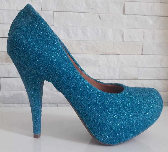 Sapato Customizado Glitter