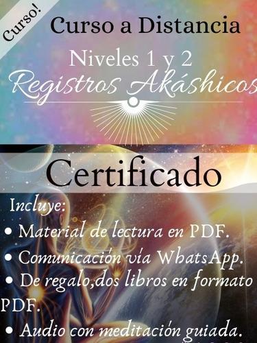 Registros Akáshicos Niveles 1 Y 2 Curso Mercado Libre