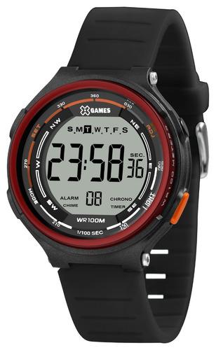 Relógio X-games Masculino Digital Xmppd576 Bxpx Vermelho