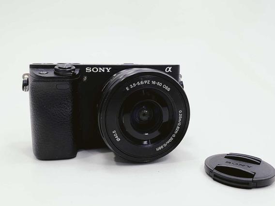 Sony A6300 Com Lente 16-50