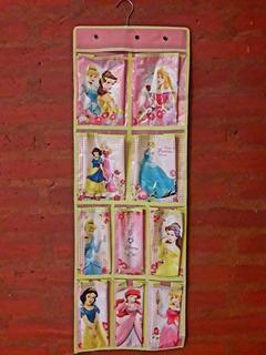 Disney Princesas Percha Organizador De Placard Medias