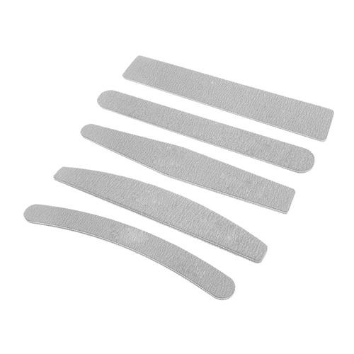 5 P?s / Lote Unha Arquivos 100/180 Grit 5 Diferentes Formas