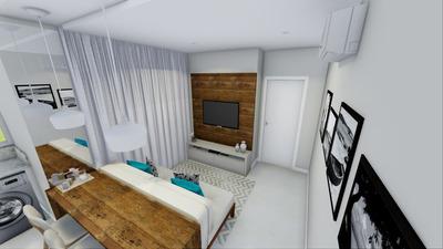 Apartamento Em Trindade, Florianópolis/sc De 47m² 1 Quartos À Venda Por R$ 279.000,00 - Ap105103