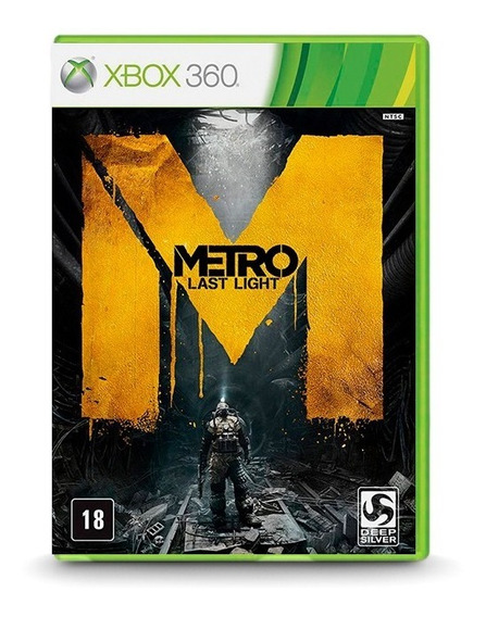 Metro Last Light - Original Para Xbox 360 Novo