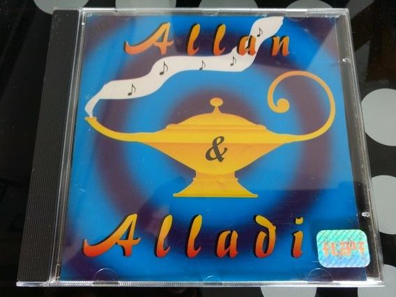 Cd Alan E Aladin - Mix. (raro) Música Oração Pela Família