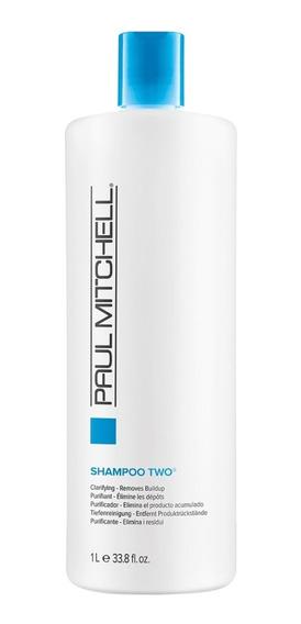 Shampoo Paul Mitchell Two Clarifying 1000ml + Brinde