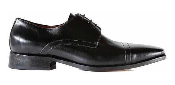 Zapatos Cuero Hombre Briganti Vestir Suela - Hcac00686 01