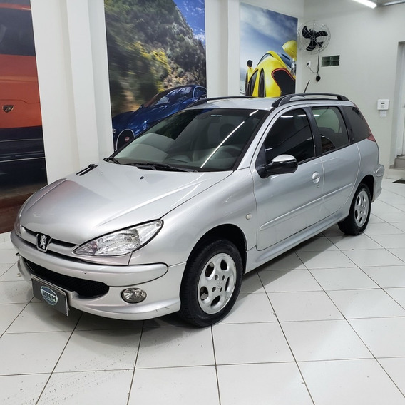 Peugeot 206 Sw Ano 200 - Completo