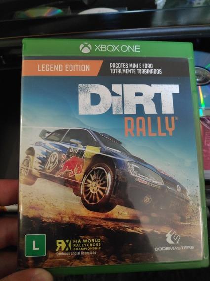 Dirt Rally Legend Edition Mídia Física Usado Xbox One