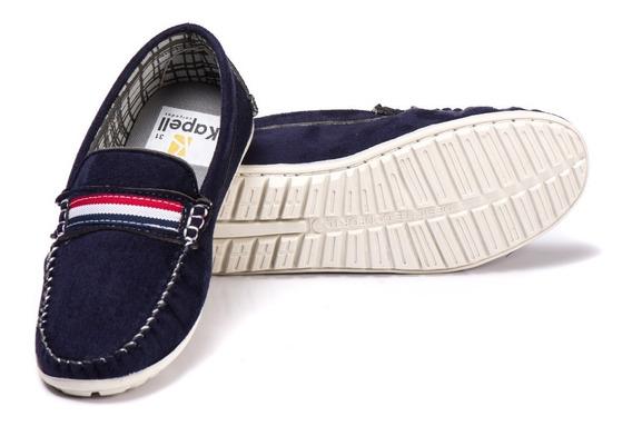 Mocassin Infantil Sapato Sapatenis Tipo Pol 100% !