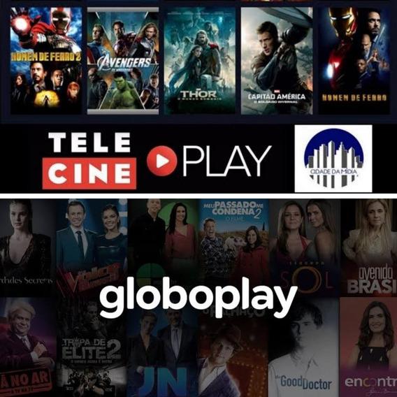 Telecine+globo.play.envio Imediato!!!!