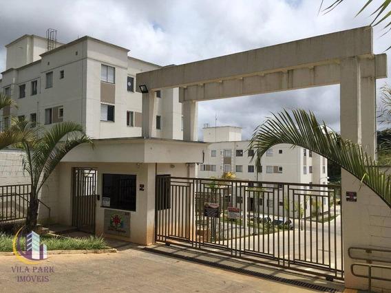 Apartamento 2 Dormitórios, 1 Vaga - Chácara Tropical (caucaia Do Alto) - Cotia/sp - Ap1009