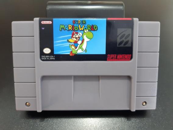 Cartuchos De Super Nintendo Super Mario World