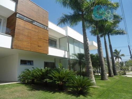 Imagem 1 de 30 de Casa À Venda - Condomínio Jardim Acapulco - Guarujá - Ca1119