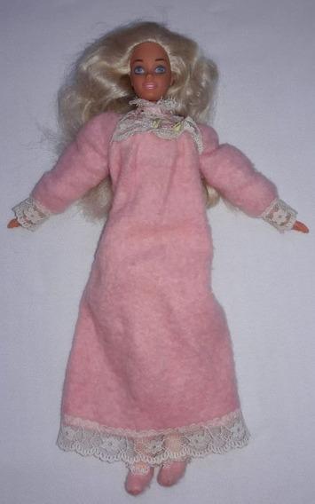 Barbie Bedtime Doll Boneca 30cm Corpo Fofinho Mattel 1993-94