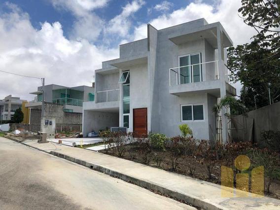 Casa Com 4 Dormitórios À Venda Por R$ 980.000 - Antares - Maceió/al - Ca0346