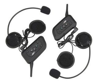 Intercomunicadores Universales Para Casco Bluetooth 1200