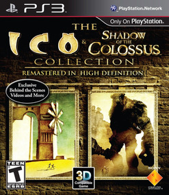 Jogo Ico & Shadow Of The Colossus Ps3 Playstation 3 Fisica