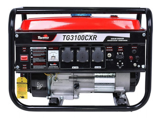 Gerador De Energia À Gasolina 3,1kva Bivolt Tg3100cxr Toyama