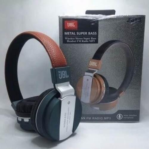 Headphones Jbl Jb55 Metal Super Bass Wireless