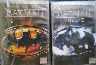 Batman Coleccion / Incluye 4 Films - Dvd Dobles Orginales Z4