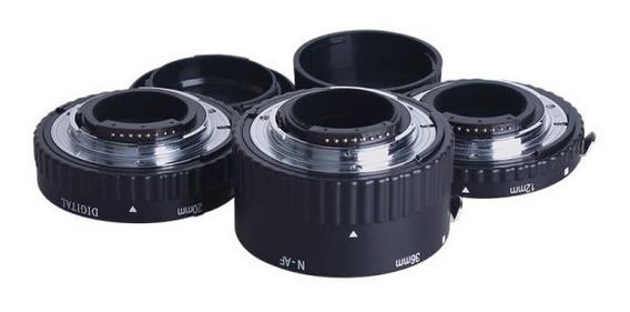 Tubo Extensor Nikon Meike, Abertura Af, Baioneta Metal
