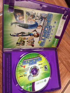 Videojuego De Sport Kinect Para Xbox 360